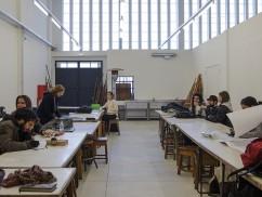 Ar.Co Xabregas: primeiro dia de aulas.12/01/2017. Imagem: Nuno Martinho